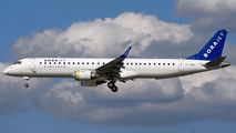 EI-GAZ - Bora Jet Airlines Embraer ERJ-195 (190-200) aircraft