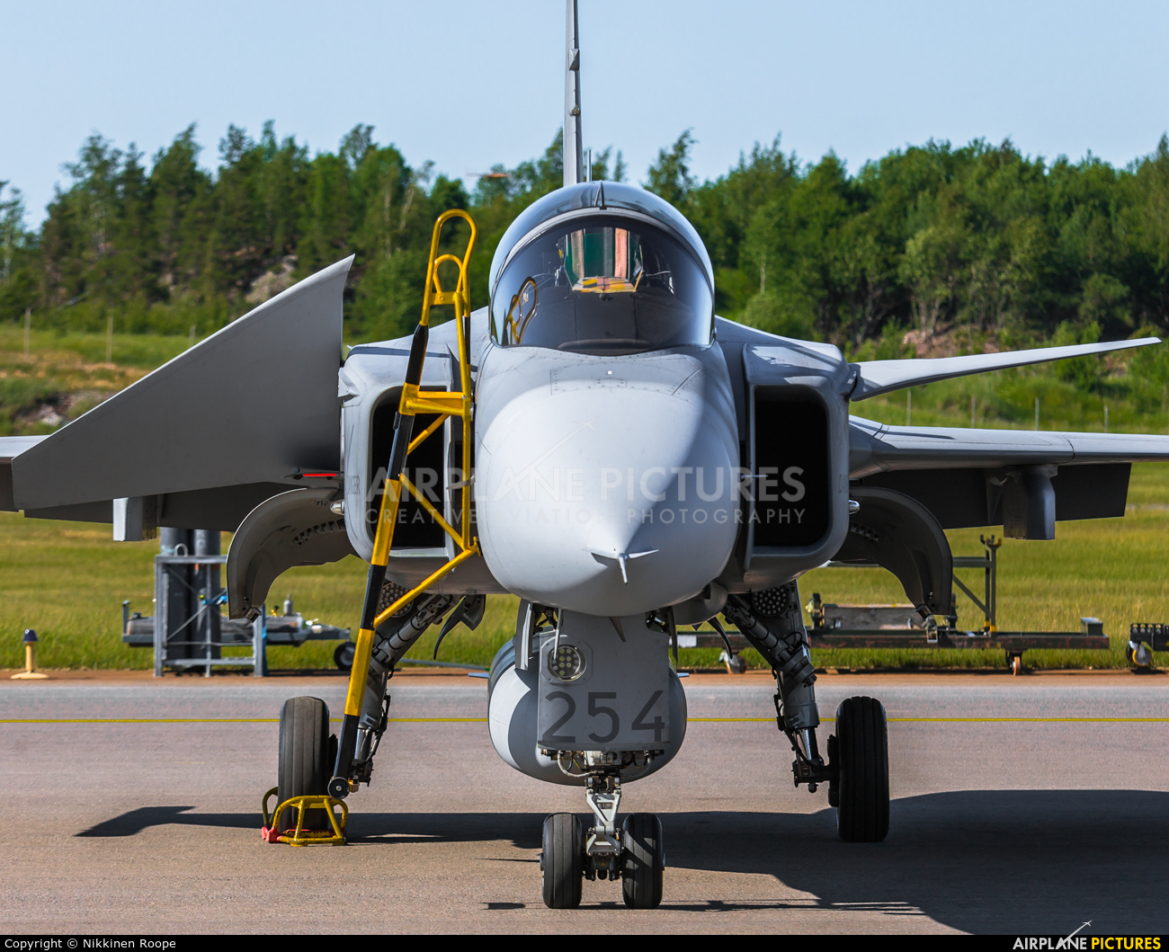 Sweden - Air Force 39254 aircraft at Turku