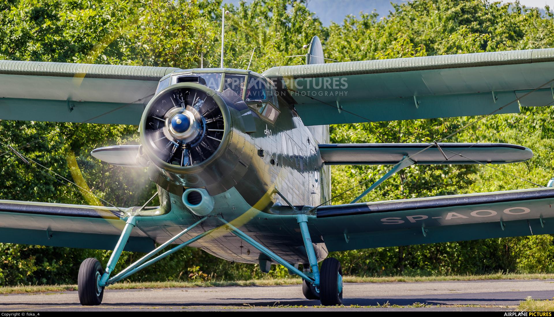 Private SP-AOO aircraft at Koblenz-Winningen