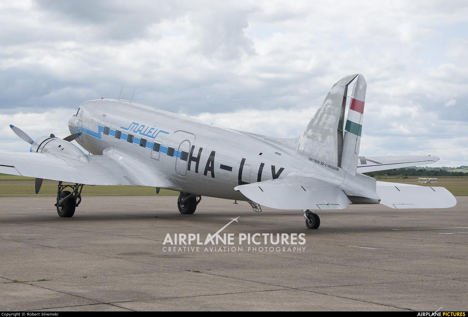 Malev Sunflower Aviation (Gold Ttimer Foundation) HA-LIX aircraft at Duxford