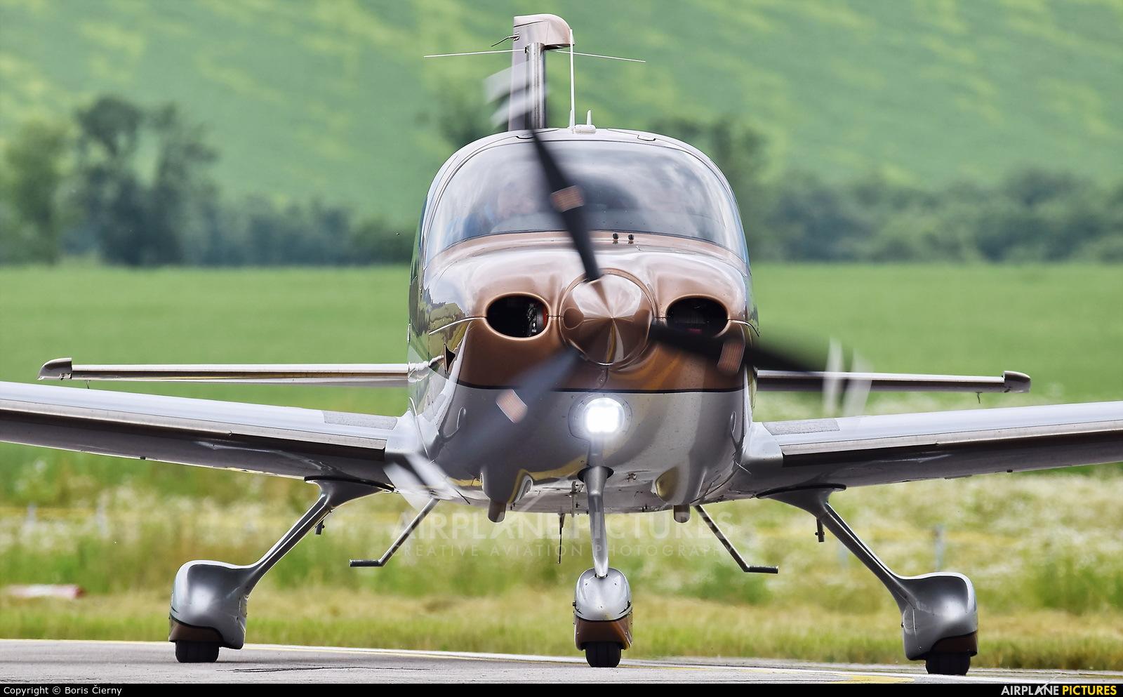 Private OK-KEA aircraft at Aerodrome Jasna