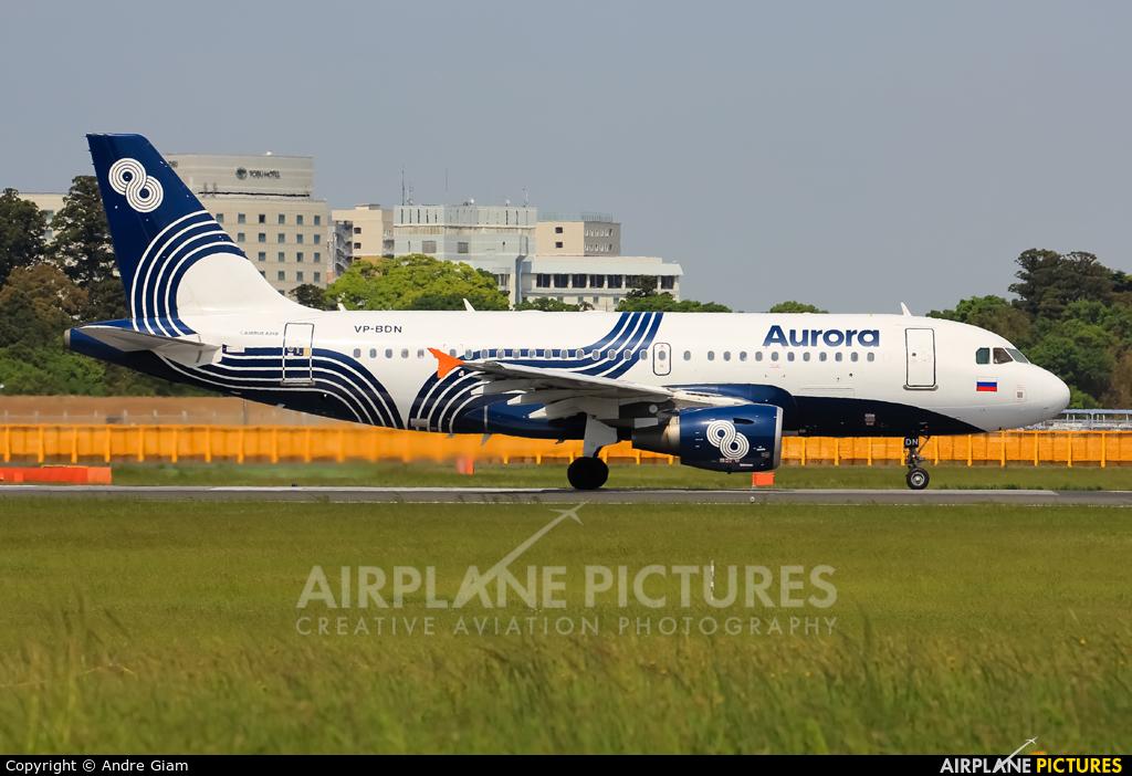 Aurora VP-BDN aircraft at Tokyo - Narita Intl