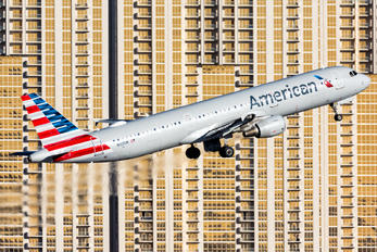 N155UW - American Airlines Airbus A321