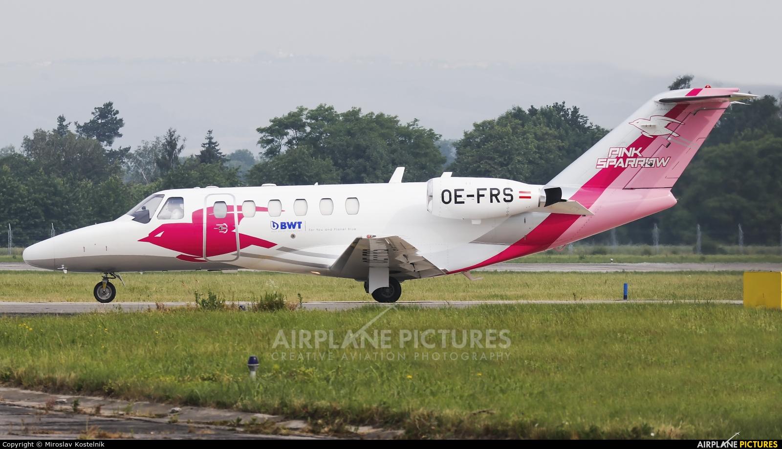 Private OE-FRS aircraft at Ostrava Mošnov