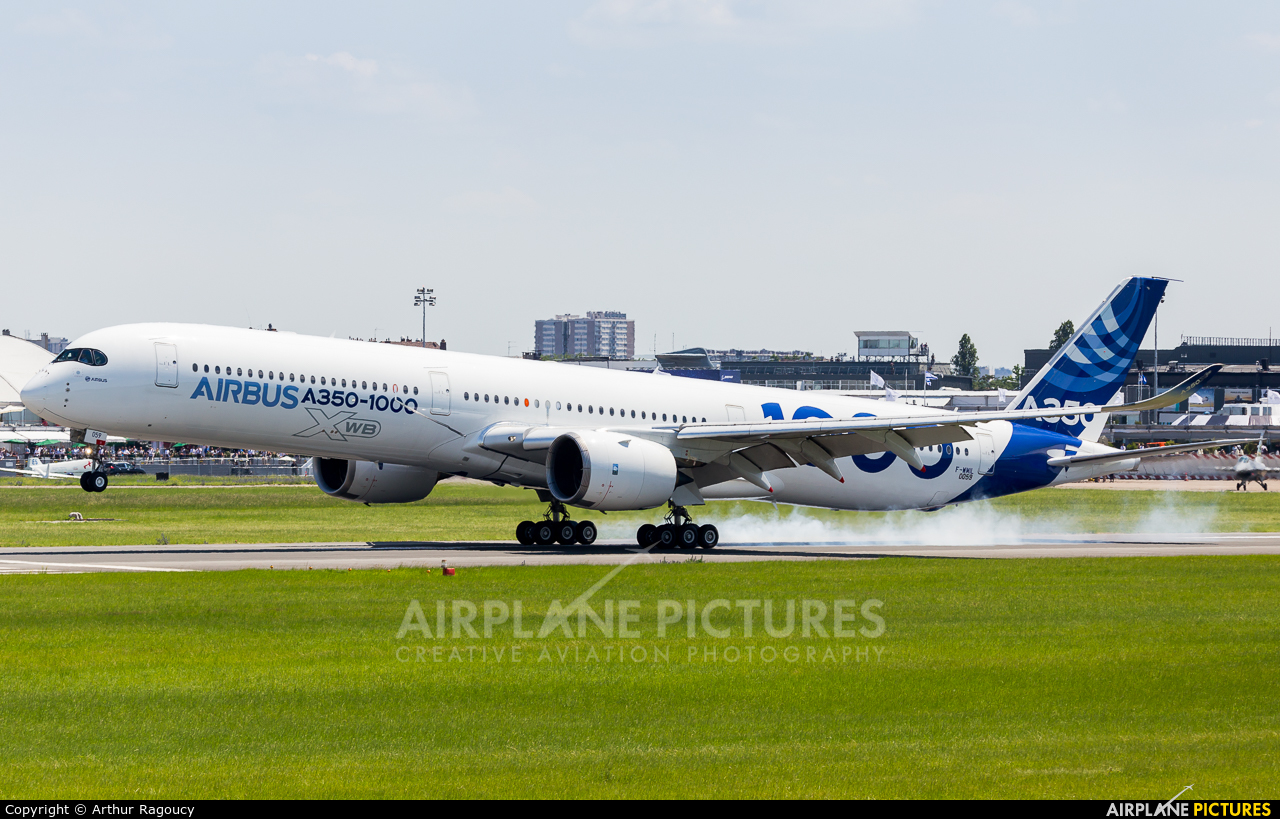 Airbus Industrie F-WMIL aircraft at Paris - Le Bourget