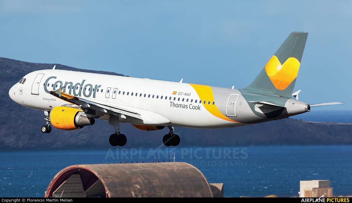 Thomas Cook Balearics EC-NAD aircraft at Aeropuerto de Gran Canaria