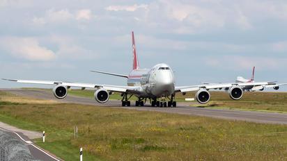 LX-VNC - Cargolux Boeing 747-8F