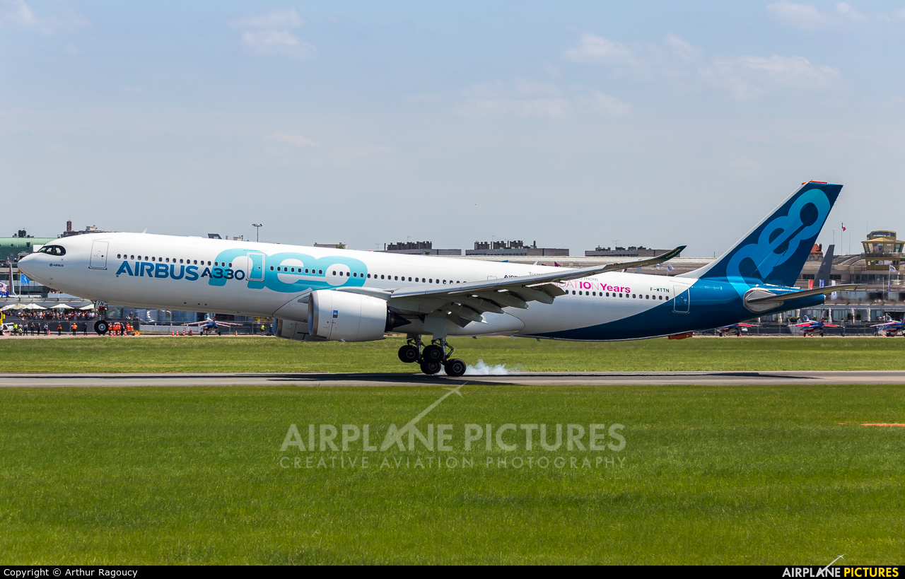Airbus Industrie F-WTTN aircraft at Paris - Le Bourget