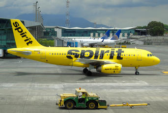 N516NK - Spirit Airlines Airbus A319