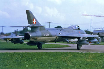 J-4112 - Switzerland - Air Force Hawker Hunter F.58