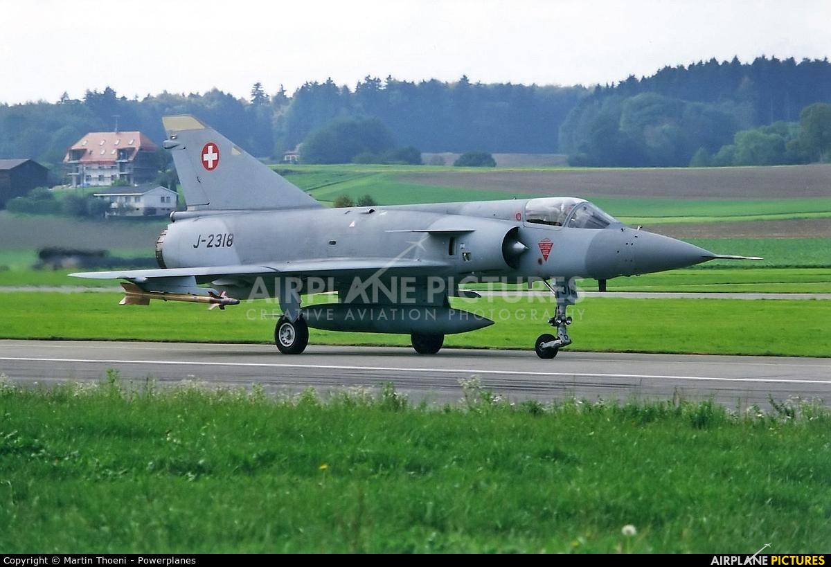 Switzerland - Air Force J-2318 aircraft at Payerne