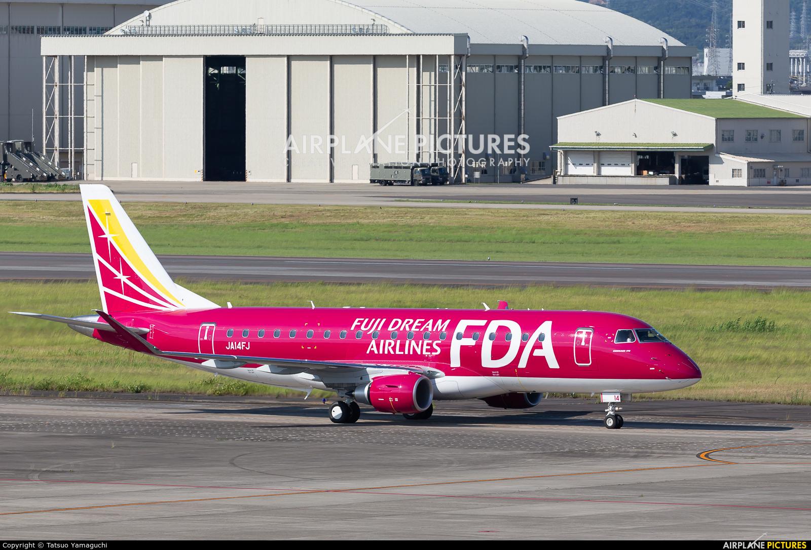 Fuji Dream Airlines JA14FJ aircraft at Nagoya - Komaki AB
