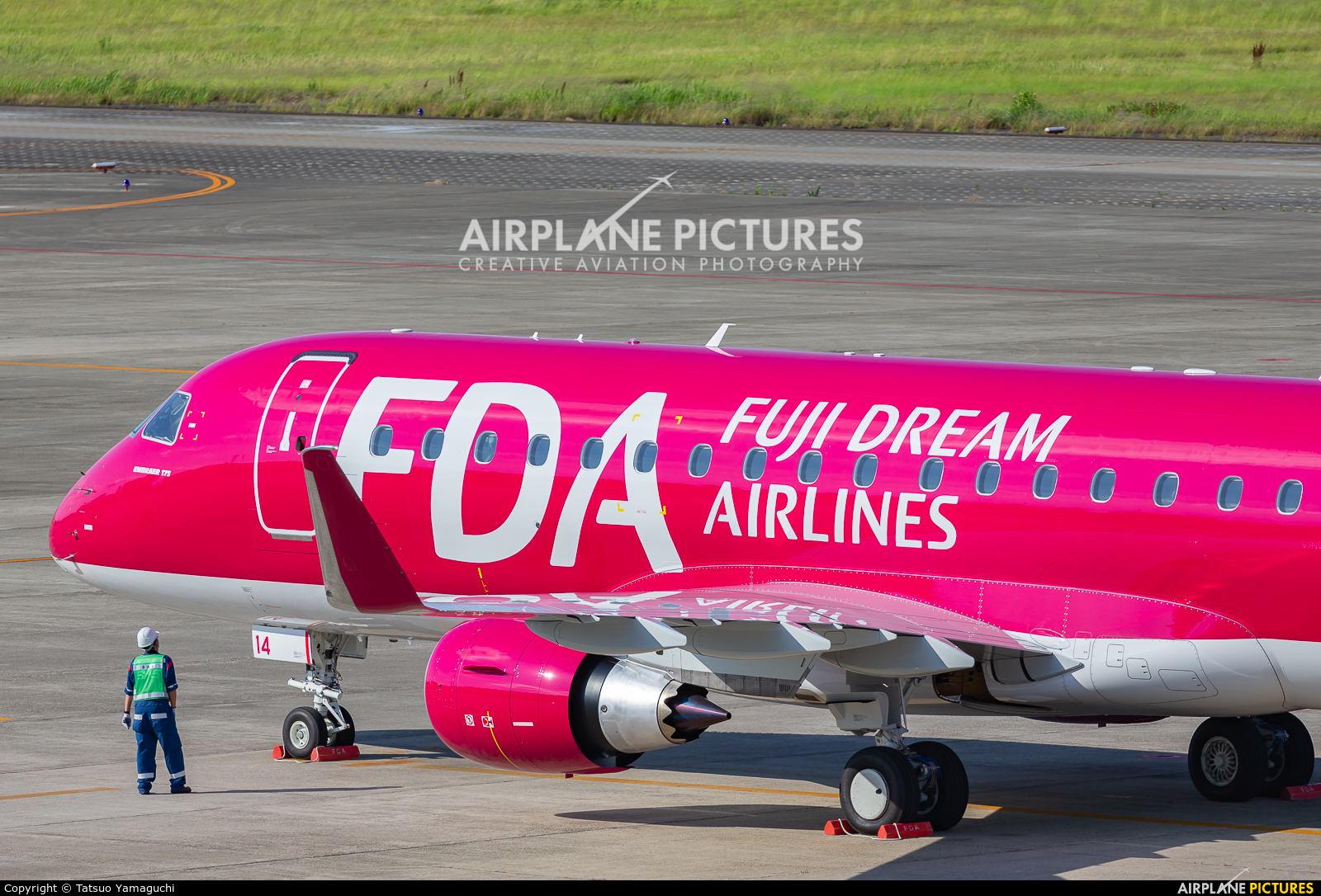 Fuji Dream Airlines JA14FJ aircraft at Nagoya - Komaki AB