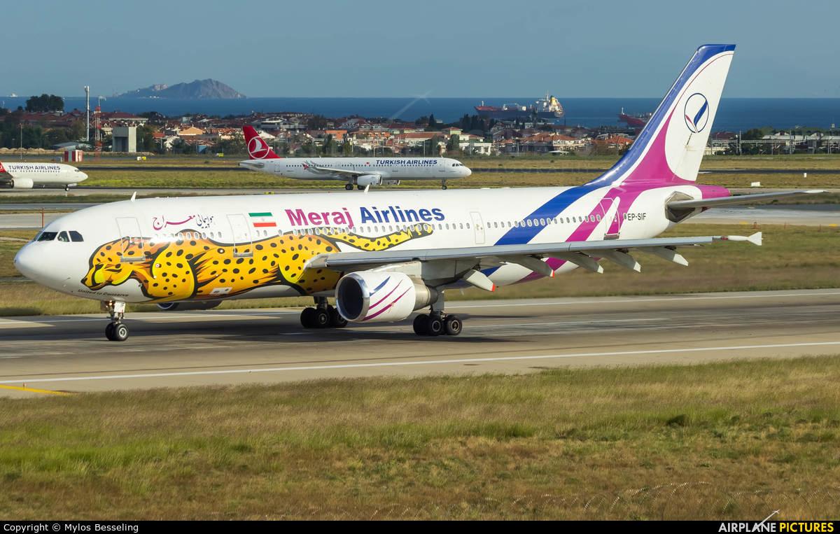 Meraj Airlines EP-SIF aircraft at Istanbul - Ataturk