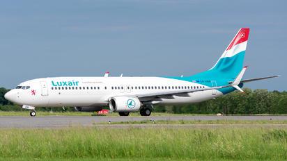 LX-LGV - Luxair Boeing 737-800