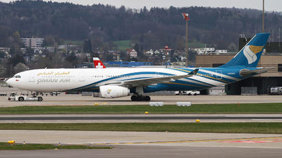 A4O-DJ - Oman Air Airbus A330-200