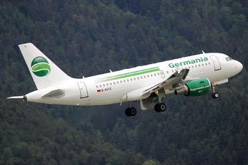 D-ASTG - Germania Airbus A319