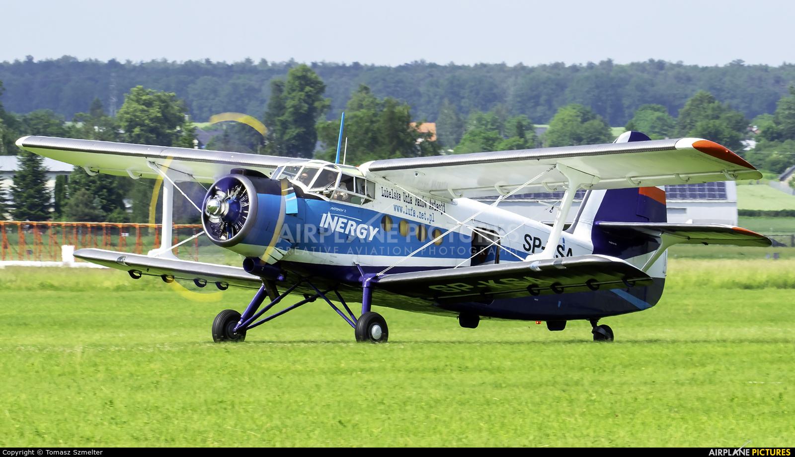 Aeroklub Świdnik SP-KSA aircraft at Świdnik