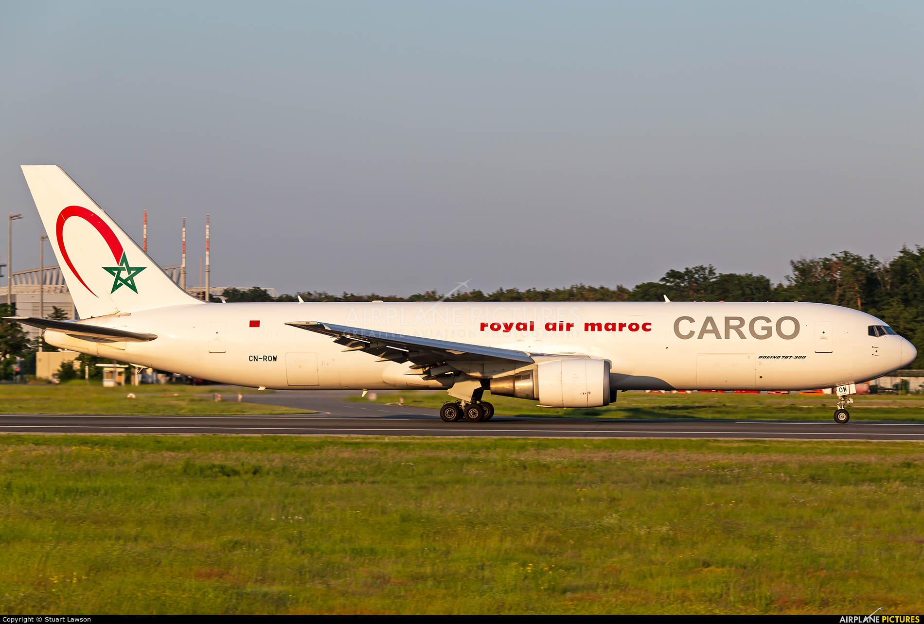 Royal Air Maroc Cargo CN-ROW aircraft at Frankfurt