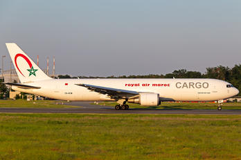 CN-ROW - Royal Air Maroc Cargo Boeing 767-300F