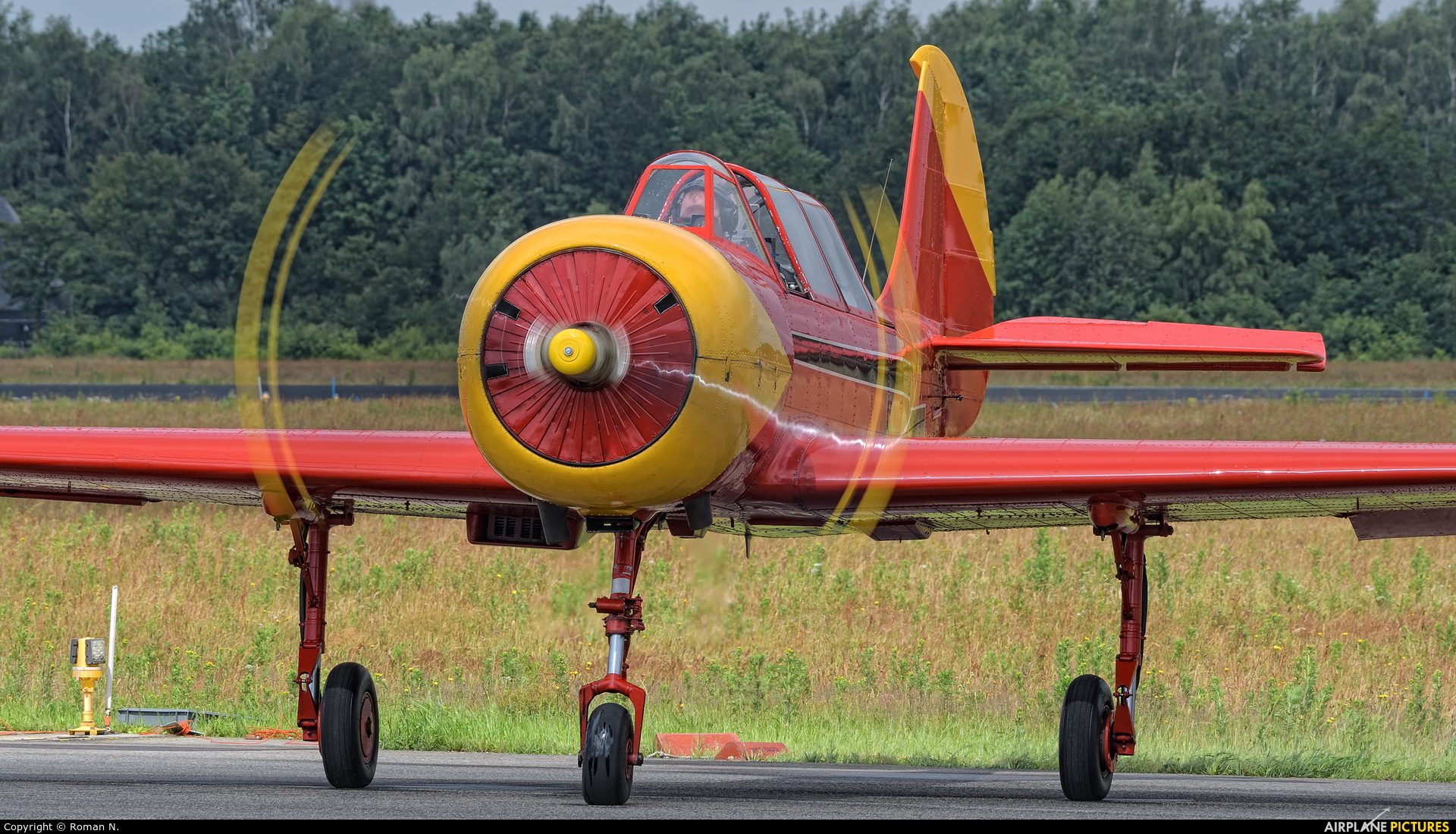 Private PH-YAX aircraft at Uden - Volkel