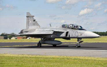 43 - Hungary - Air Force SAAB JAS 39D Gripen
