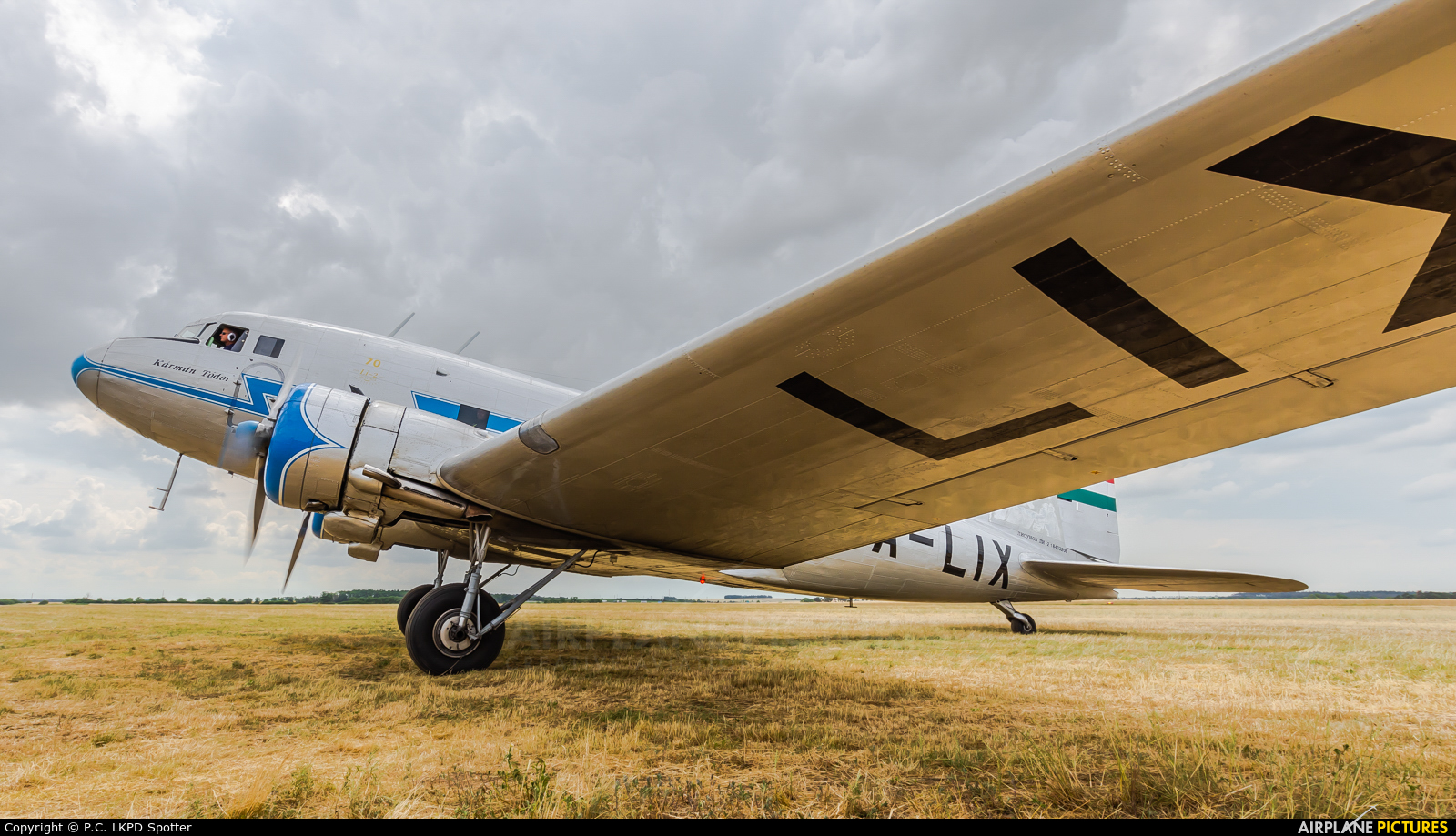 Malev Sunflower Aviation (Gold Ttimer Foundation) HA-LIX aircraft at Roudnice nad Labem