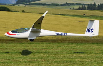 YU-4477 - Private Jonker Sailplanes JS1 Revelation 21m