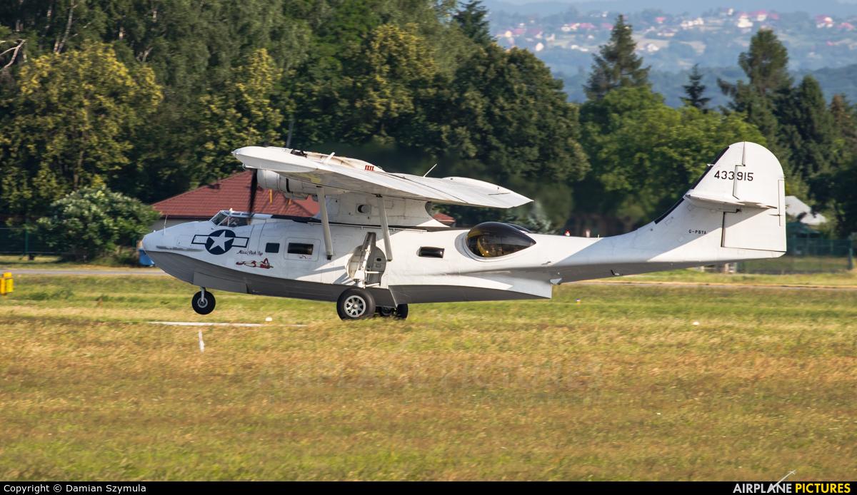 Catalina Aircraft G-PBYA aircraft at Kraków - John Paul II Intl