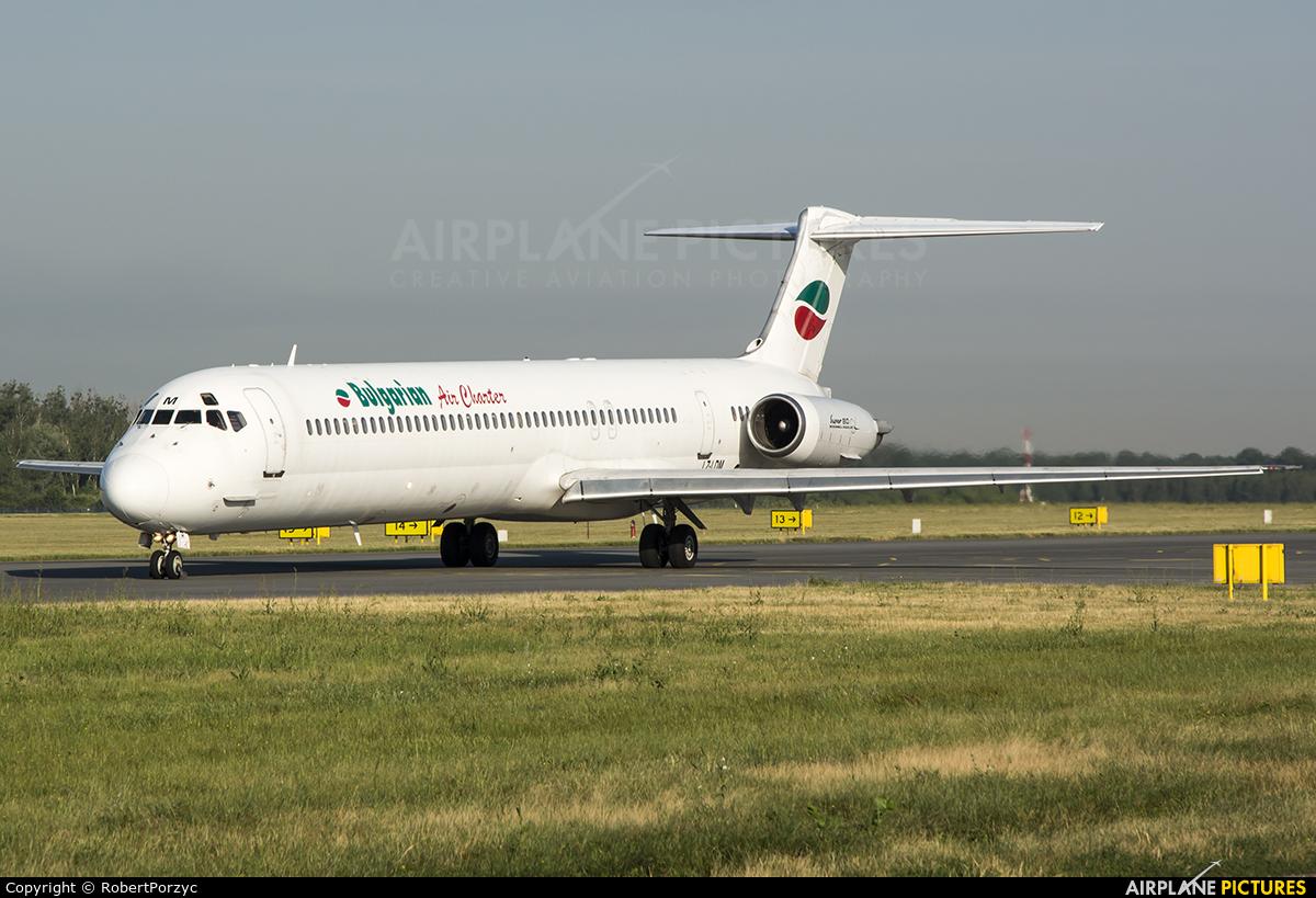 Bulgarian Air Charter LZ-LDM aircraft at Wrocław - Copernicus