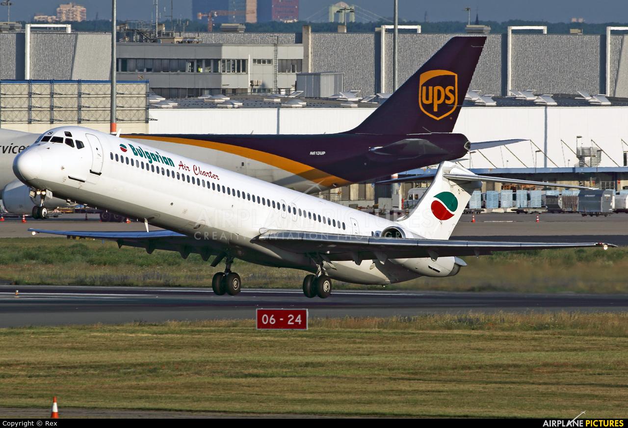Bulgarian Air Charter LZ-LDS aircraft at Cologne Bonn - Konrad Adenauer