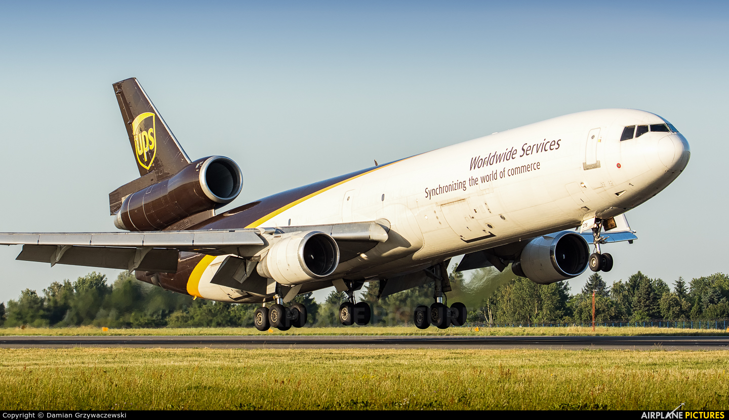 UPS - United Parcel Service N278UP aircraft at Warsaw - Frederic Chopin