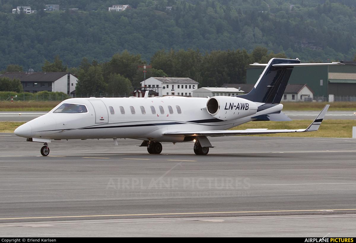 Airwing LN-AWB aircraft at Trondheim - Vaernes