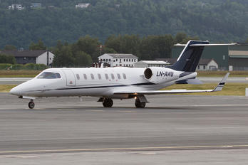 LN-AWB - Airwing Learjet 45
