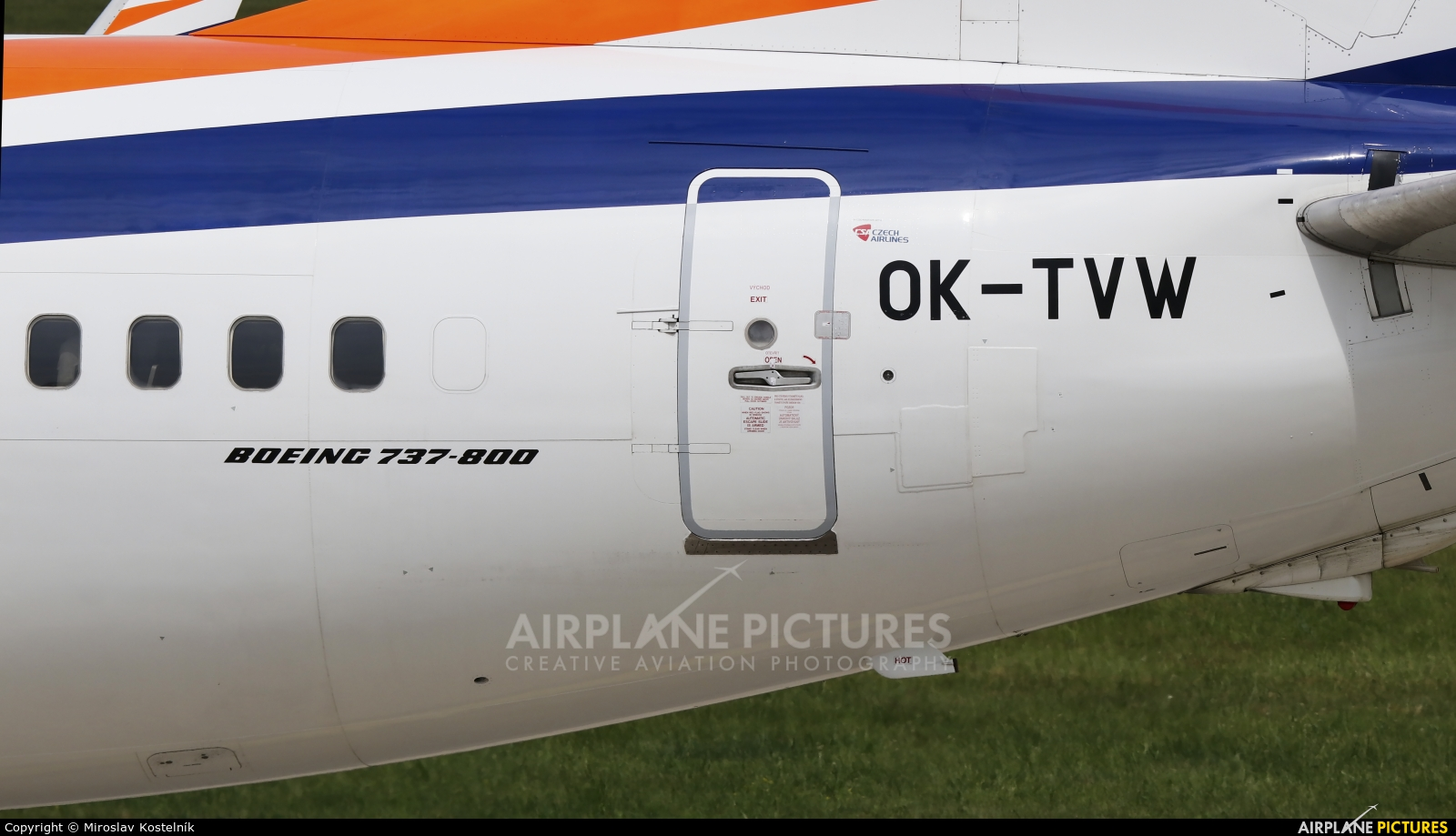 SmartWings OK-TVW aircraft at Ostrava Mošnov