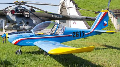 2617 - Czech - Air Force Evektor-Aerotechnik EV-97 Eurostar
