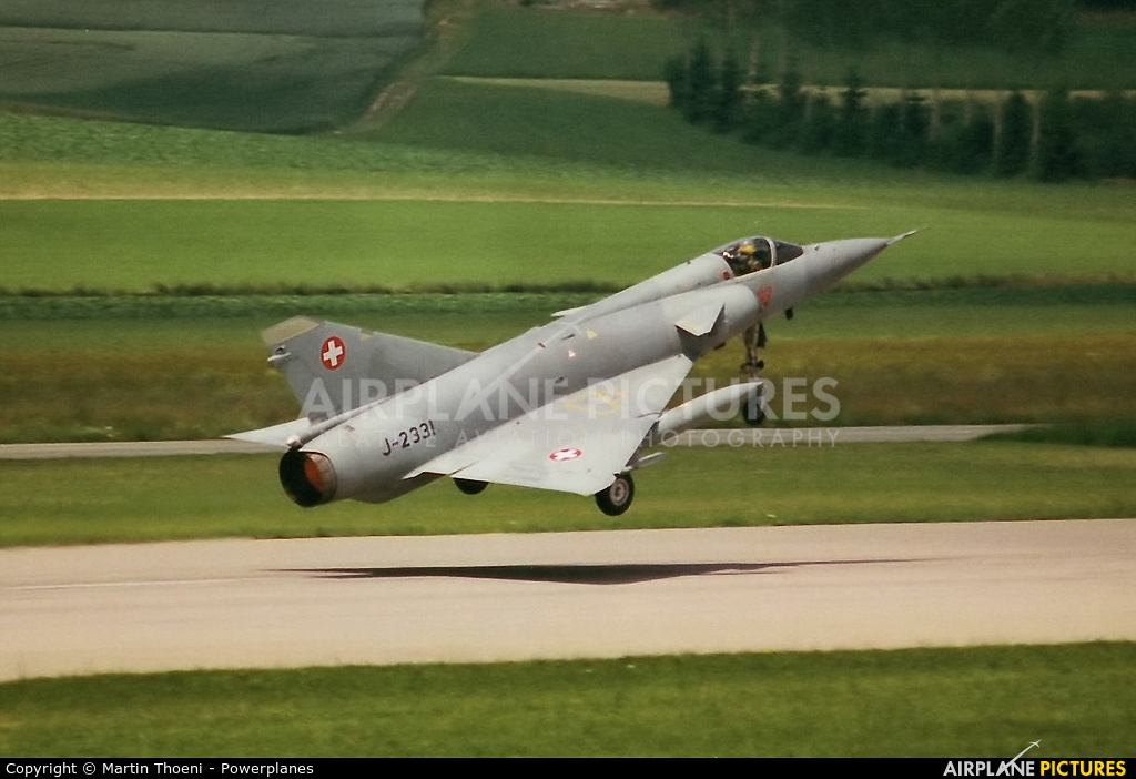 Switzerland - Air Force J-2331 aircraft at Payerne