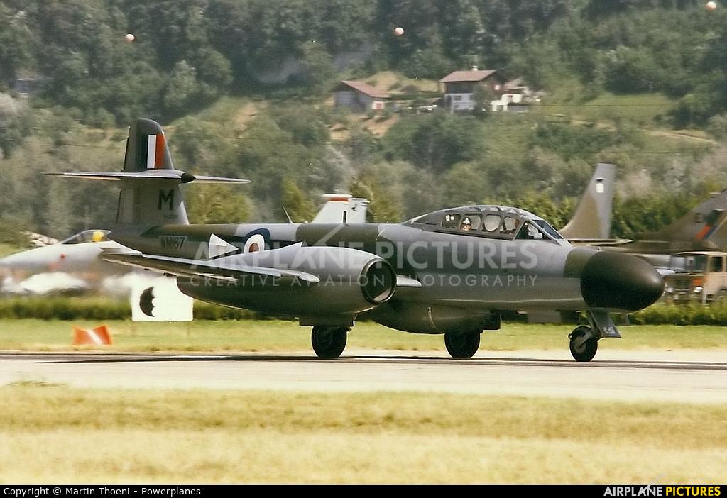 Classic Air Force G-LOSM aircraft at Sion