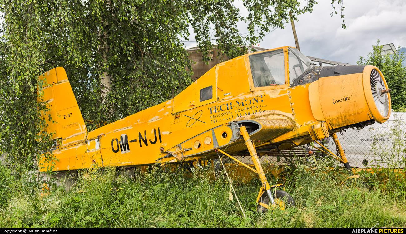 Techmont OM-NJI aircraft at Aerodrome Jasna