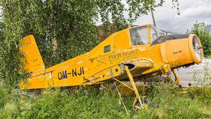 OM-NJI - Techmont LET Z-37 Čmelák