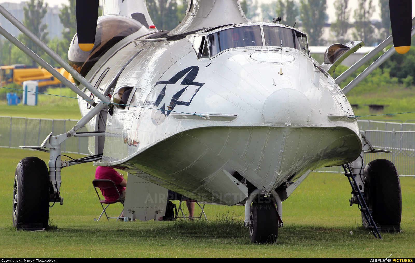 Catalina Aircraft G-PBYA aircraft at Płock