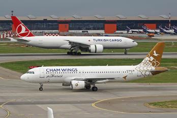 YK-BAA - Cham Wings Airbus A320