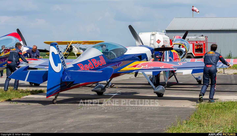 The Flying Bulls : Aerobatics Team OK-FBC aircraft at Kraków - Pobiednik Wielki