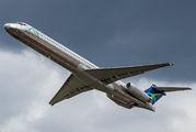 Rare visit of World Atlantic MD-83 to Richmond title=