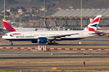 G-VIIE - British Airways Boeing 777-200