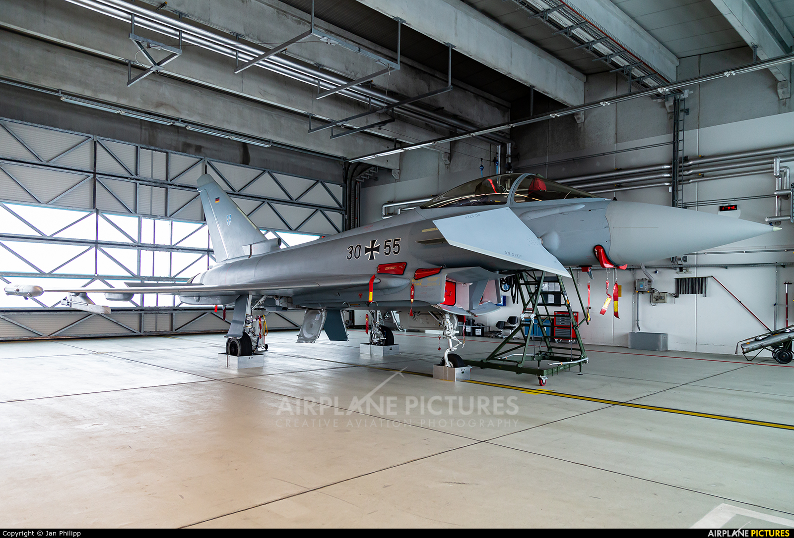 Germany - Air Force 30+55 aircraft at Rostock - Laage
