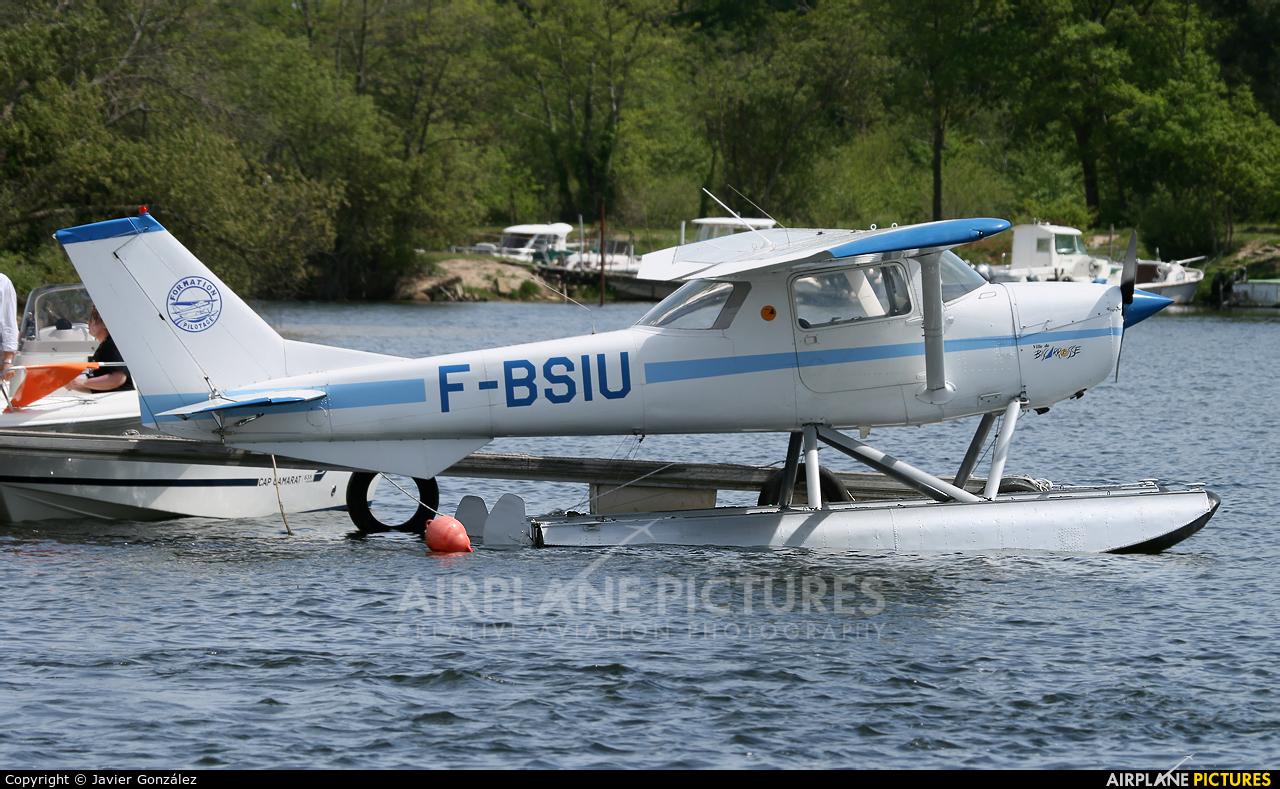 Private F-BSIU aircraft at Biscarrosse - Parentis
