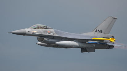 J-512 - Netherlands - Air Force General Dynamics F-16A Fighting Falcon