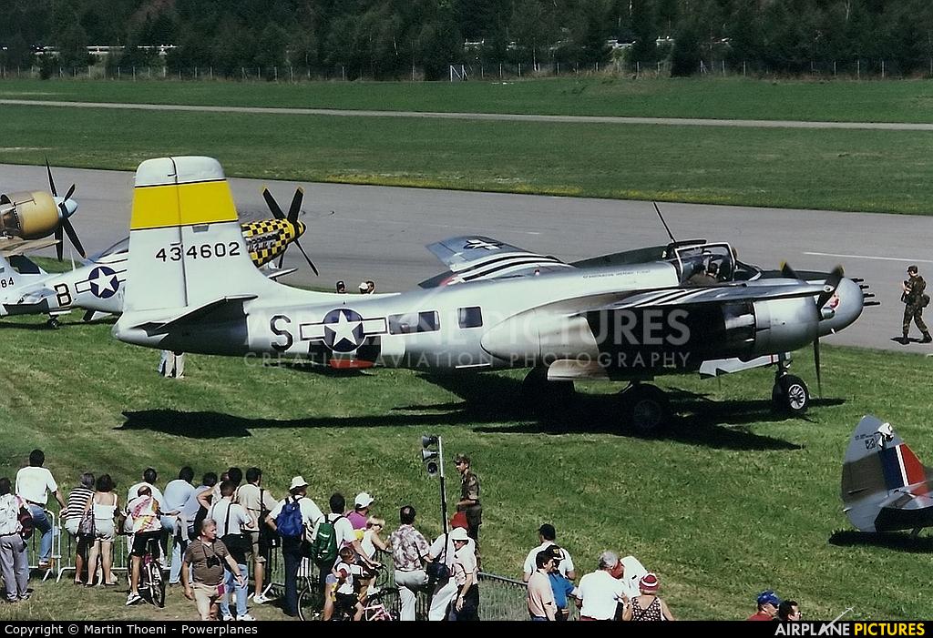 Scandinavian Historic Flight N167B aircraft at Ambri