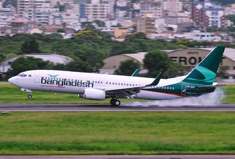 PR-GOZ - Biman Bangladesh Boeing 737-800